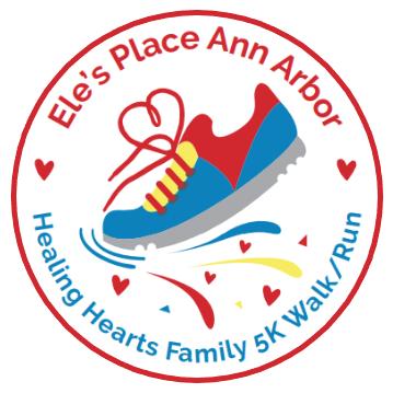 Walk-Run Logo with Border Logo